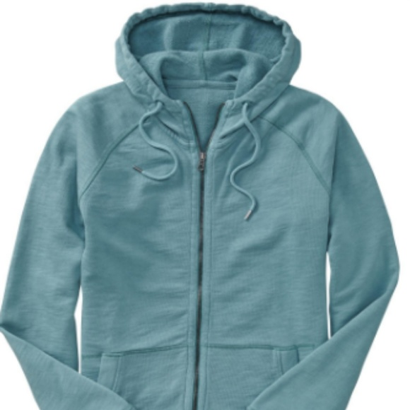 GAP Other - GAP Lived In Blue Zip Up Hoodie